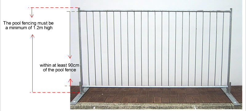 Portable removable swimming pool safety fence buy
