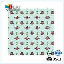 Newest !! Fashion Owl Gift wrapping paper jumbo roll