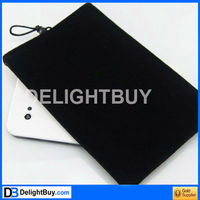 7 inch Soft Flannel Pouch Case Sleeve Bag for Tablet PC (assorted color)