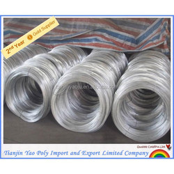 2015 Best price Low carbon type Steel/Iron Wire with RAL6012 Black green Coating