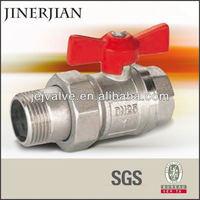 cf8m 1000wog wafer type brass ball valve price