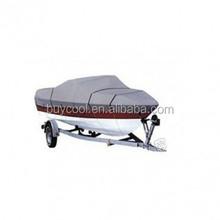 Grey V-Hull Fish - Ski Trailerable Boat Cover 500CM X 290CM