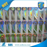 Professional custom anti-counterfeiting hologram plastic label strip