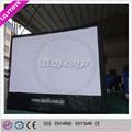 Iflatable de telas do projetor, tela de cinema inflável para venda