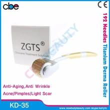 KD-35 big sale FDA approved professional skin nurse system 192 titanium micro needle skin roller