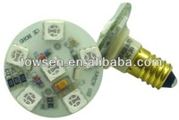 M058 E10 outdoor waterproof ip65 e14 SMD 5050RGB funfair led light turbo amusement pixel led lights