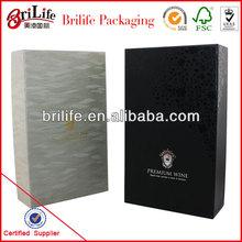 High quality Cardboard wine carrier box in Shanghai