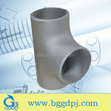 BG Brand ASME B16.9 SCH10S stainless steel tees pipe fittings marine