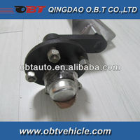 Small rubber torsion axle for boar trailer