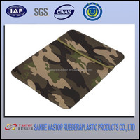 Camouflage 11.6 inch neoprene laptop sleeve without zipper