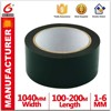 Green film black foam tape