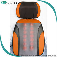Health care and body relax appliance heated car massage cushion
