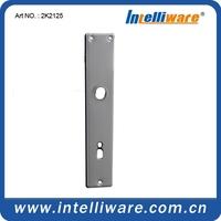 Aluminum accessories anodized door handles on plate