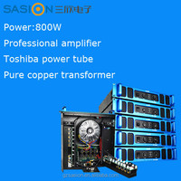 PH2080-b 800W high quality KTV and public concert professional power amplifier