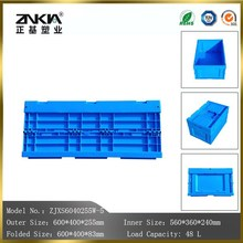 direct wholesale from Chinese factory high quality plastic foldable storage vegetable and fruit crates