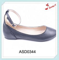 2016 new design flat buckle strap sandals lady fashion footwear shoes wholesale