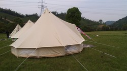 100% cotton canvas tent faor family camping