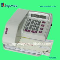 2012 Electronic and Multinational Currency Symbols Cheque Writer(KSW310)