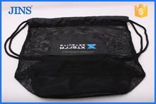 2015 hot sale custom mesh bag, mesh bag with drawstring, foldable nylon mesh bag