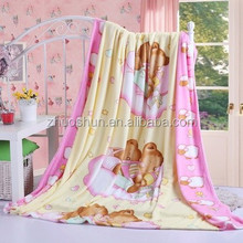 100% polyester printed Micro soft baby blanket