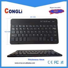Colored Bluetooth Computer Keyboards from China Manufacturer with Leather Case