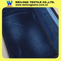 "B3064C 62/63"" 11oz super dark blue printed cotton denim fabric robin jeans boots"