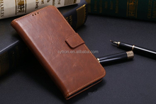 folio mobile phone bags cases for samsung galaxy s5 with three card holders