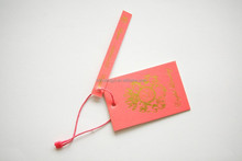 custom fashion paper hangtag for specification