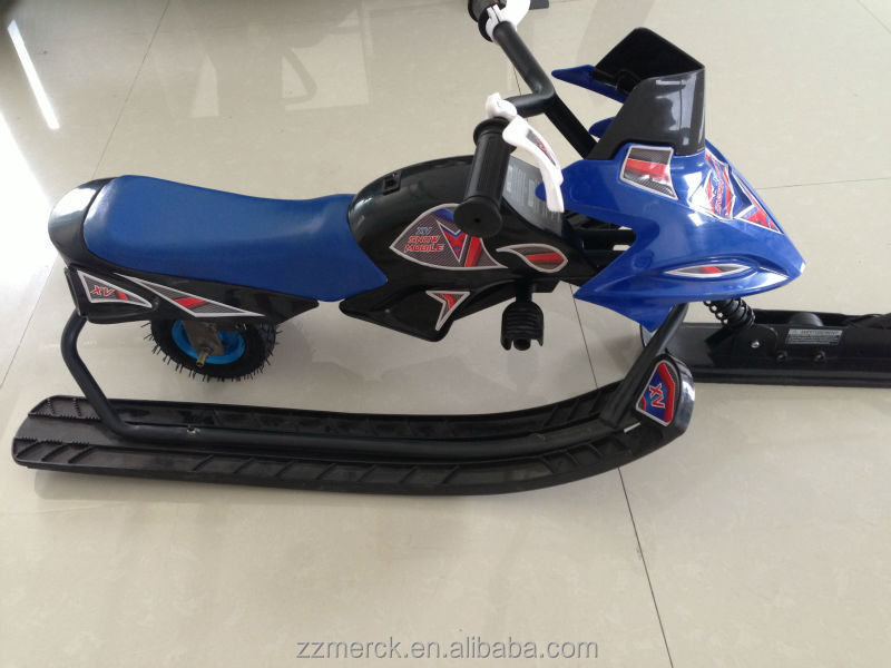 Outdoor Sports Kids Snow Sled Electric Snowmobile For Sale ...