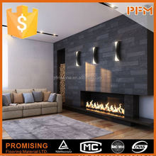 PFM Chinese marble and travertine fireplace bio ethanol fuel