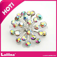 Crystal rhinestone button Manufacture in China