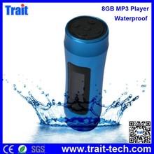 8GB Waterproof MP3 Player With FM Radio