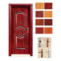 deeper pressed red indoor metal door manufacturer