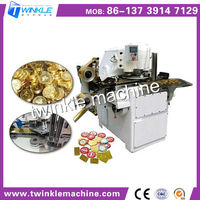 TK-T15 CHOCOLATE COIN WRAPPING MACHINE/PACKING MACHINE
