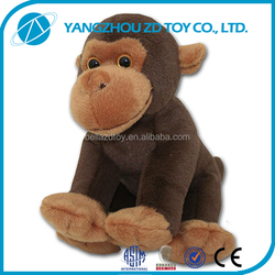 lovely soft christmas gift new style pattern toys monkey