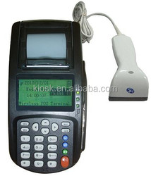 cheap POS with barcode scanner Magnetic/IC/RFID for top up, bill payment,selling lottery