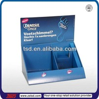 TSD-C706 retail store custom medicine product small cardboard counter top display boxes