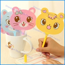 Creative Cartoon Animal Fan Plastic Pen