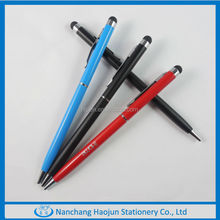 2015 metal ballpoint pen with screen touch function