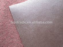 microfiber embossed suede leather