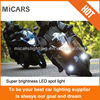 OEM high quality profession 720lm motocycle sport light super bright Mi609 led work light