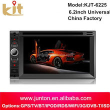 cheap price HD Double 2DIN Car Stereo DVD Player GPS Navigation Bluetooth iPod MP3 TV+Camera
