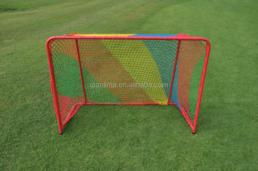 Ez Goal Steel Folding Hockey Backstop Targets Practice Puck Stick ...