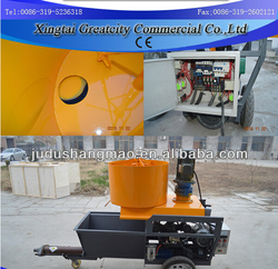 cheap Cement mortar plaster spraying machine HS-N9 with good price wholesale price