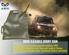 Flexible gasoline oil tank