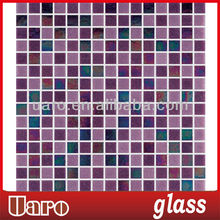 Boarder design mixture 20mm light purple tile mosaic