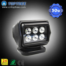 30W LED Remote Control Working Lamp for Passenger Boat