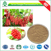 100% herbal extract Natural 1% Schisandrin Chinese Magnolia-vine Extract