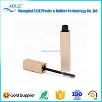PLASTIC-446 Shiny black fiber mascara bottle / empty mascara container /cosmetic packaging mascara tube
