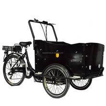hot sale high quality cheap three wheel aluminium electric coffee bike trike